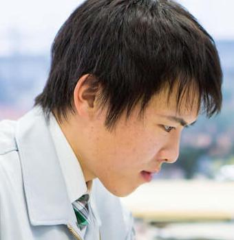 田中涼介の仕事風景2
